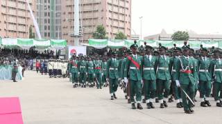 getlinkyoutube.com-2015 NIGERIAN INAUGURATION (Colour Party Parade)