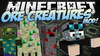getlinkyoutube.com-Minecraft | ORE CREATURES MOD! (Shiny New Agressive Mobs!) | Mod Showcase