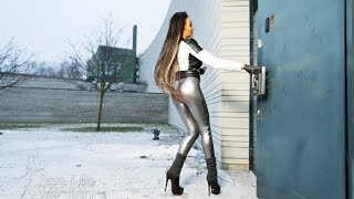"""High heeled boots and silver leggings """"Sound of my Heels"""" Trailer video+"""