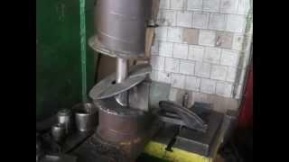 getlinkyoutube.com-изготовление витка шнека,шнек своими руками,гибка витка