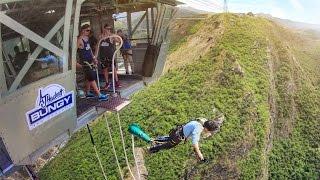 getlinkyoutube.com-New Zealand Highest Bungy Jump !!