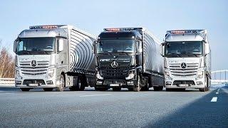 getlinkyoutube.com-Daimler Mercedes Truck Highway Pilot Connect - Test Drive