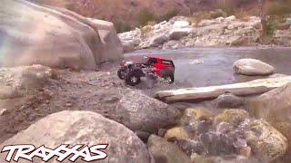getlinkyoutube.com-Traxxas Telluride River Rock Run