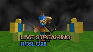 getlinkyoutube.com-Robux giveaways! | ROBLOX LIVESTREAM! | requested games by you guys come and join!