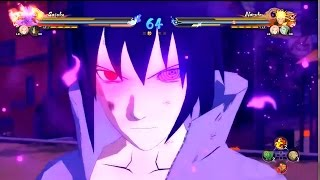 getlinkyoutube.com-Naruto Ultimate Ninja Storm 4 | Uchiha Sasuke Gameplay