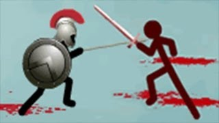 getlinkyoutube.com-Stick War 2 Gameplay: Eighth battle [HD] Jugger Knights