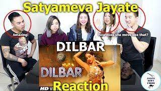 DILBAR | Satyameva Jayate | John Abraham Nora Fatehi | REACTION width=