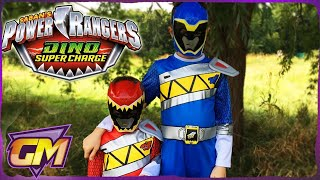 getlinkyoutube.com-Power Rangers Dino Super Charge Kids Parody