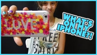 getlinkyoutube.com-WHAT'S ON MY IPHONE 6!?! | JAYLA SHOWS YOU WHAT'S ON HER PHONE | SMELLYBELLYTV