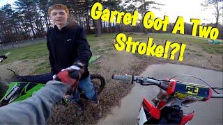 getlinkyoutube.com-Garrett Bought a 2 Stroke!?!? Plus Riding! EP-31
