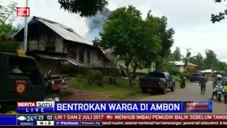 4 Orang Tewas dalam Bentrokan Dua Desa di Ambon