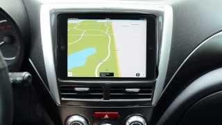 getlinkyoutube.com-2012 Subaru WRX iPad Mini Install Review