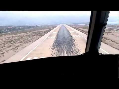 From Cockpit: MEA Airbus 300 Landing at Beirut (BEY), Lebanon