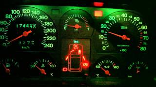 getlinkyoutube.com-Fiat Uno Turbo Mk1 '86 Check panel and stopwatch HD