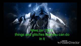 Wwe svr 2011 psp glitches, and things that you can do(please subcribe)