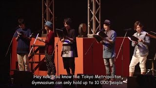 getlinkyoutube.com-ENG SUB Haikyuu!! Matsuri 2015 part 2/2 Live Reading Afureko with Fukurodani