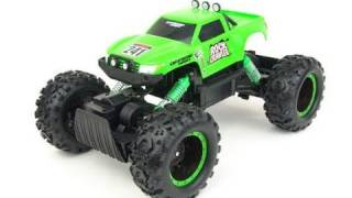 getlinkyoutube.com-Maisto RC Rock Crawler - overview & test