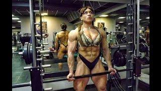 getlinkyoutube.com-Female Bodybuilding-WorkOut  Nataliya Truhina