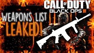 "getlinkyoutube.com-""Black Ops 3"" Weapons List LEAKED?   COD BO3 News & Info (COD BO 1 Zombies Gameplay)"