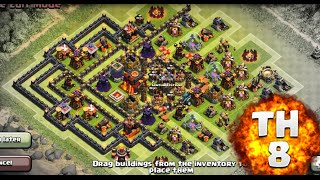 getlinkyoutube.com-Clash of Clans - Town Hall 8 Southern Teaser - PUSH/WAR!!!!