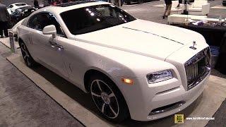 getlinkyoutube.com-2016 Rolls Royce Wraith - Exterior and Interior Walkaround - 2016 Chicago Auto Show