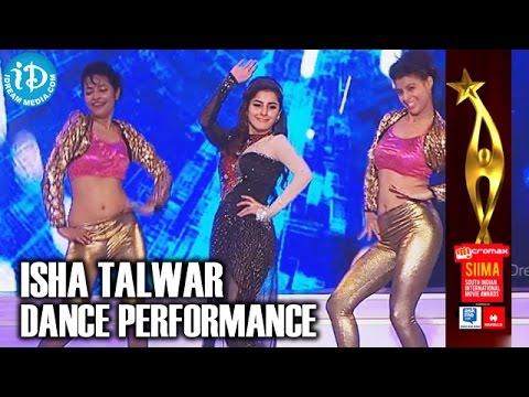 SIIMA 2014 Tamil - Isha Talwar Dance Performance | Exclusive Video