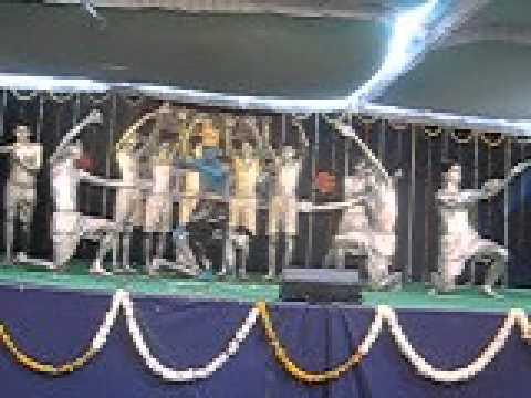 shri gujrati samaj indore profession college vijay nagar annuaval function dance