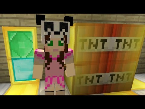 Minecraft: SECRET TREASURE ROOM CHALLENGE [EPS9] [9]