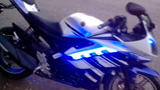 getlinkyoutube.com-yamaha R15 LEDs and Rear light Flasher