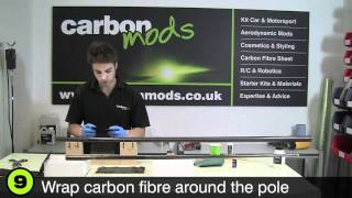 getlinkyoutube.com-How to Repair a Broken Carbon Fibre (Fiber) Fishing Pole or Rod