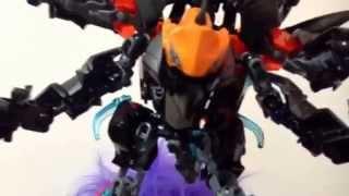 getlinkyoutube.com-Lego hero factory IFB moc : the death beast !!!