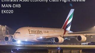 getlinkyoutube.com-Emirates A380 Economy Class Flight review