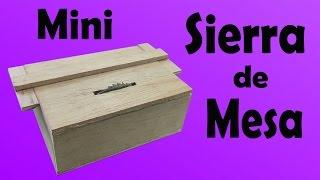 getlinkyoutube.com-Mini Sierra de Mesa Casera (Muy fácil de hacer)