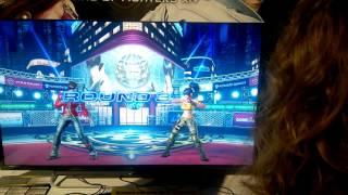 getlinkyoutube.com-The King of Fighters XIV 14 Match.