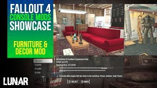 getlinkyoutube.com-Fallout 4 Console Mods Week 8: Decoration & Furniture Expansion Pack!