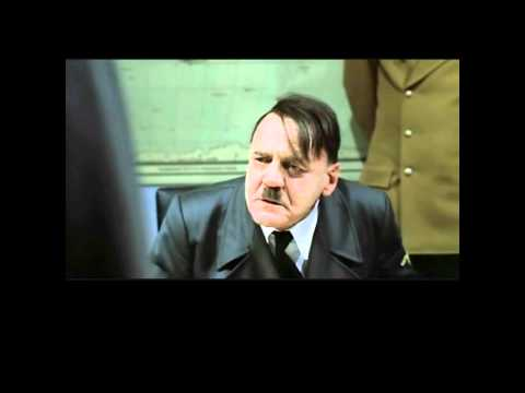 Hitler original bunker scene (original German subtitles)