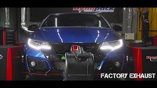 getlinkyoutube.com-Honda Civic Type-R FK2   Armytrix ECU Remapping   Dyno Proven