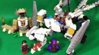getlinkyoutube.com-레고 닌자고 티타늄 드래곤 정품 조립 리뷰 Lego Ninjago 70748 Titanium Dragon