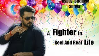 Surya - a fighter in reel and real life | Birthday Special