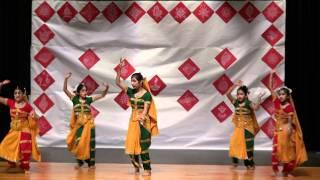 getlinkyoutube.com-LeBongo Rabindra Jayanti 2011 - Hridoy Amar Nache Re (in HD) ... Group Dance