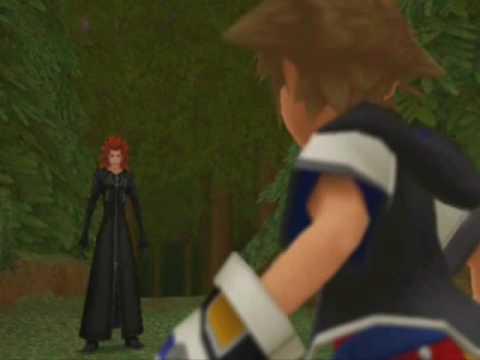 Kingdom Hearts Re:COM Cutscenes - Castle Oblivion: Floor 11: Twilight Town (Pt 1)