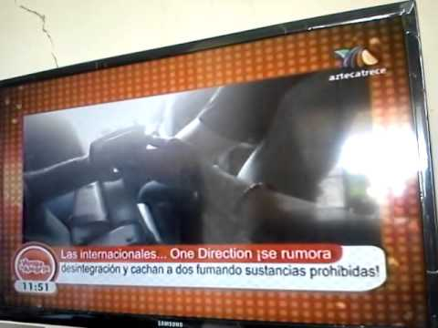 One direction (video Zouis) en Venga La Alegria