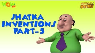 Doctor Jhatka's invention - Motu Patlu Compilation - Part 5 As seen on Nickelodeon