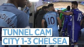 getlinkyoutube.com-TEMPERS FLARE AT THE ETIHAD! | TUNNEL CAM | City 1-3 Chelsea