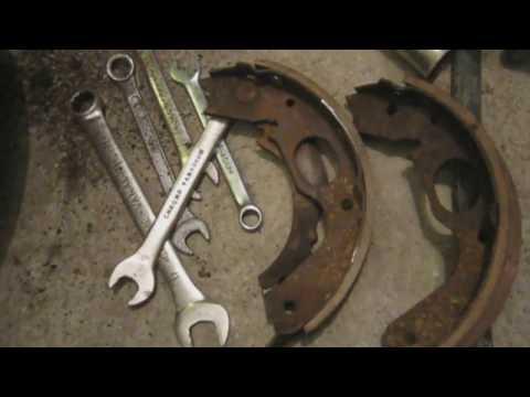 Расположение задних тормозных дисков в Митсубиси Эклипс