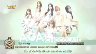 [Vietsub + Kara] AOA - Chocolate (Heart Attack Album) [AOAVN]