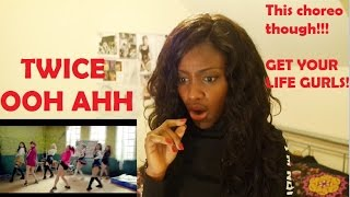 getlinkyoutube.com-Twice (트와이스) - OOH AHH 하게 MV REACTION (THIS CHOREO THOUGH!!)