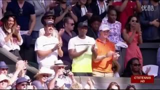 getlinkyoutube.com-Serena Williams VS Maria Sharapova Highlight 2015 WC Semifinal