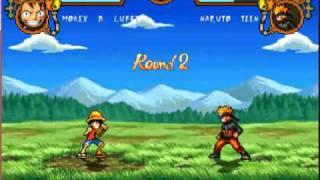 getlinkyoutube.com-Luffy vs Naruto