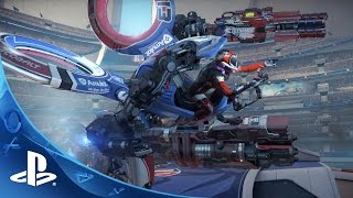 getlinkyoutube.com-RIGS Mechanized Combat League - Paris Games Week TRAILER | PlayStation VR